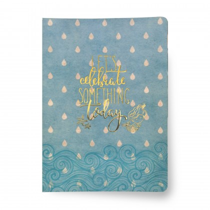 Mermaid A5 Ruled - Let's Celebrate Something Today
