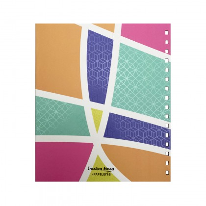 CH Journal & Planner - Colourful Heart