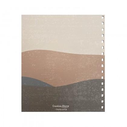 CH Journal & Planner - Brown Summer