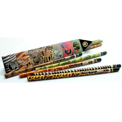 O'BON Wildlife 2B Pencils 10's