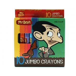 Mr Bean Jumbo Crayon 10's