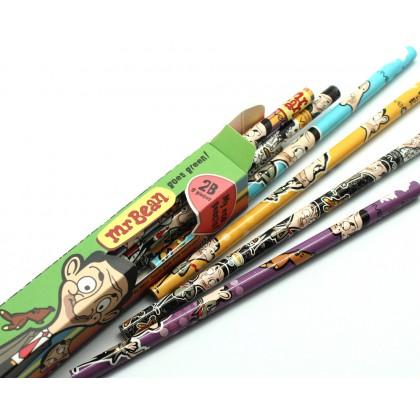 Mr Bean 2B Pencils 9's