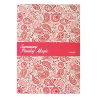 A5 Summery Paisley Magic