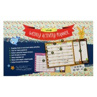 Weekly Activity Planner Vibrant Happiness c/w Sticker