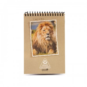 A6 Notepad - Earthy Lion