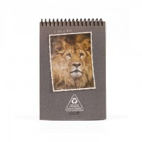 A6 Notepad - Grey Lion King