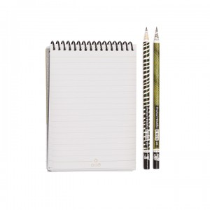 A6 Notepad - Charming Natural Panda