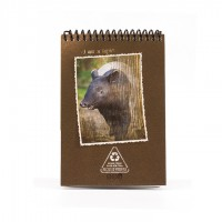 A6 Notepad - Brown Tapir