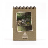 A6 Notepad - Light Grey Tapir