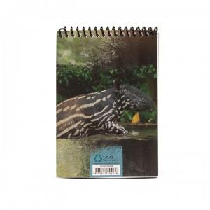 A6 Notepad - Light Grey Tapir