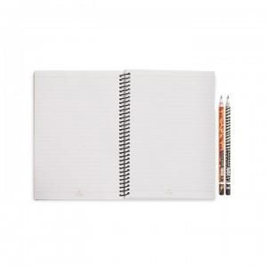 A5 Notebook - Earthy Lion