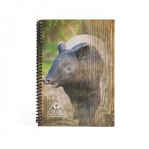 A5 Notebook - Brown Tapir