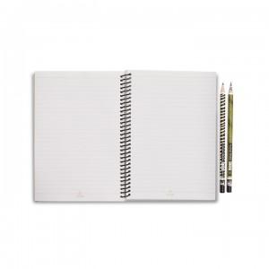 A5 Notebook - Light Grey Tapir