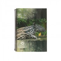 A5 Notebook - Light Grey Tapir