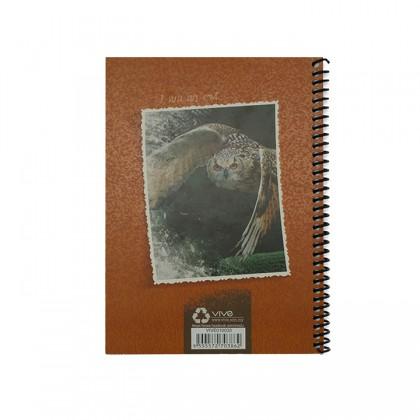 A5 Notebook - Light Brown Owl