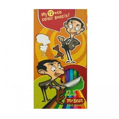 Mr Bean Colour Pencils 12's