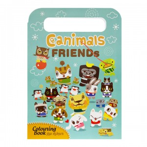 Friends Colouring Journal c/w Stickers