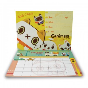 Canimals Monthly Activity Planner