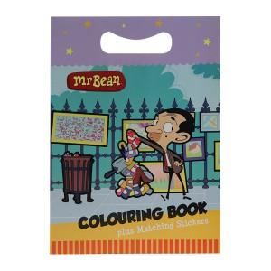 Mr Bean Colouring Book - Artist Bean