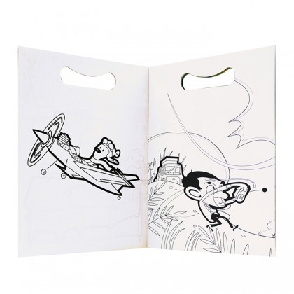 Mr Bean Colouring Book - Artist Bean