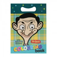 Mr Bean Colouring Book - Characters II