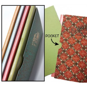 Batik-inspired A5 INTELLECT Weekly Planner