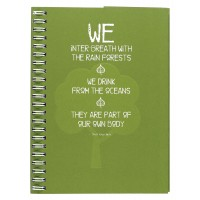 Eco Jotter Green WE