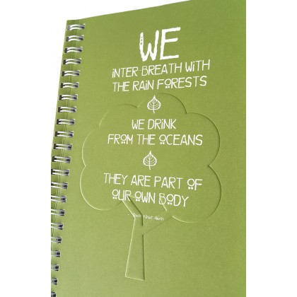 Eco Jotter A5 Green WE