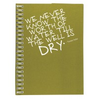 Eco Jotter Olive DRY