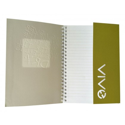 Eco Jotter A5 Olive DRY