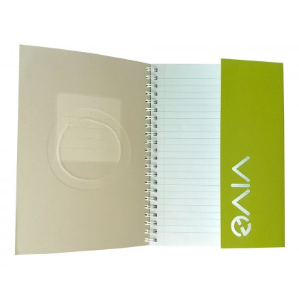 Eco Jotter A5 Lime NATION