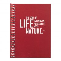 Eco Jotter Red LIFE