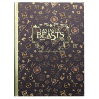 Fantastic Beasts A5 Notebook - Black