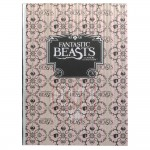 Fantastic Beasts A5 Notebook - Light Pink
