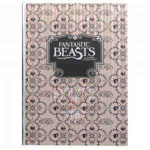 Fantastic Beasts A5 Notebook - Light Pink