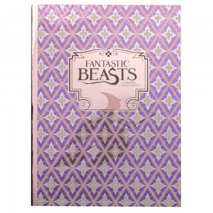 Fantastic Beasts A5 Notebook - Purple