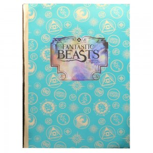 Fantastic Beasts A5 Notebook - Green