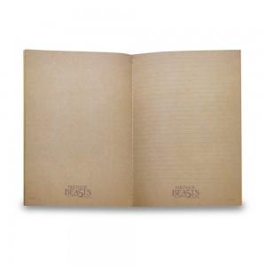 Fantastic Beasts A5 Notebook - Green