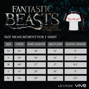 Basic Tee Fantastic Beasts -   BL Macusa Shield D7