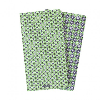 Duo Notebook 7'' x 4'' Pear Green