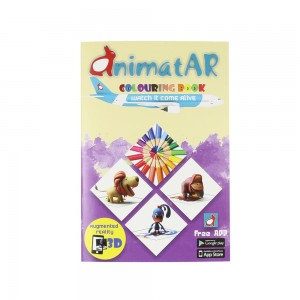 AR - AnimatAR Colouring Book A5