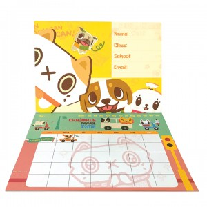 Canimals Monthly Activity Planner -Brown