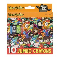 Harry Potter Jumbo Crayon 10's
