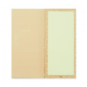 90210 Notepad Round Square