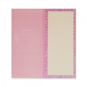 90210 Notepad Love Triangle