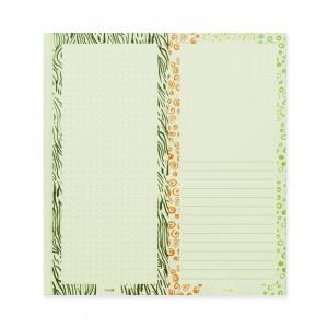 90210 Notepad Seamless Doodle