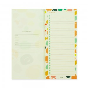 90210 Notepad Smudge Polka Dots