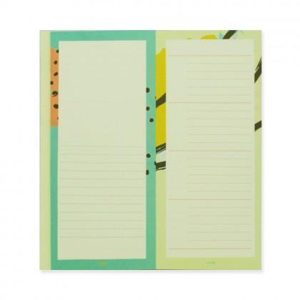 90210 Notepad Pastel Yellowish