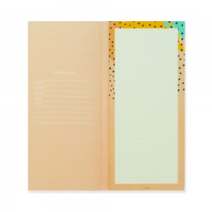 90210 Notepad Pastel Pinkish
