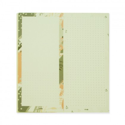 90210 Notepad Mess Triangle